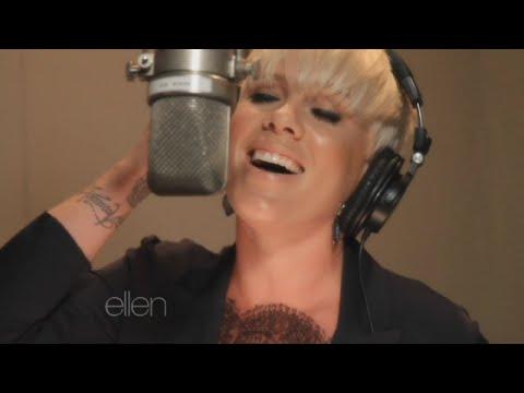 Ellen Recruits P!nk to Serenade in Season 13