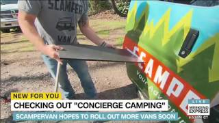 CNN spot on our Recon Camper NV200 Camper Van!