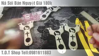 Ná Sói Hú Nhật Nguyệt Inox 304||Giá 180k|| T.O.T Shop|| Tell:0981611883