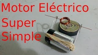 Como Hacer un Motor Eléctrico Super Sen...