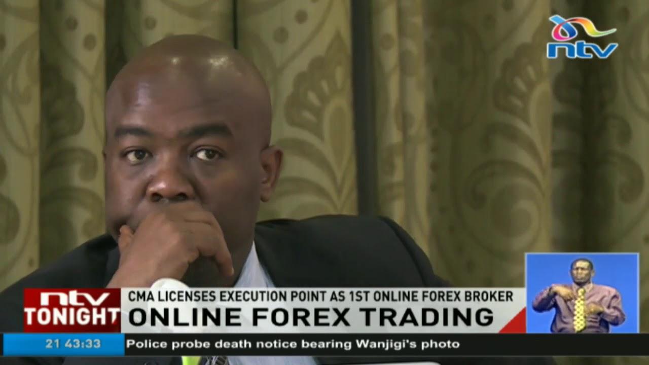 Online forex trading broker