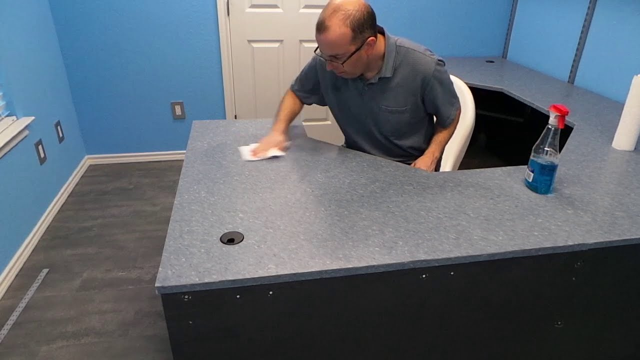 Building The Ultimate Computer Desk   Part 3   YouTube Good Ideas