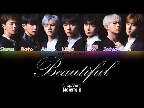 Download lagu terbaru Monsta X (몬스타엑스) - Beautiful (Japanese Version) (COLOR CODED/HAN/ROM/ENG) Mp3 online