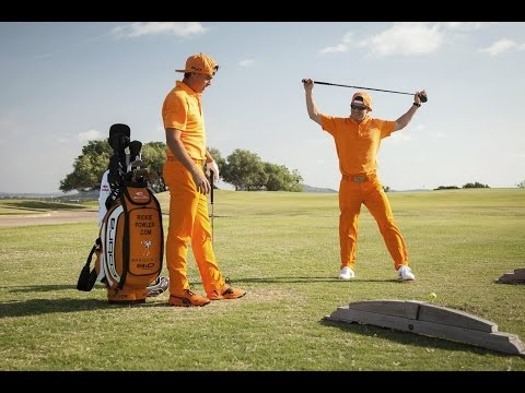 Pro golfer and cliff diver swap sports - Red Bull Dive and Drive 2014