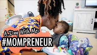 DAY IN THE LIFE: Mom Entrepreneur + Managing 7 Streams Of Income | IFY YVONNE