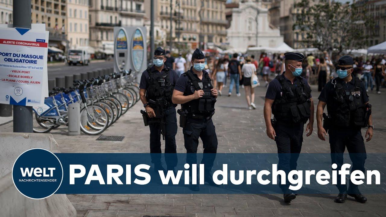 Frankreich Corona Maßnahmen