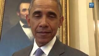President Obama imitates Frank Underwood for April Fools Day