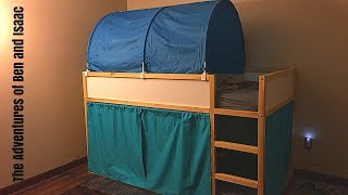 Kura Bed Tent BUNK BED FORT