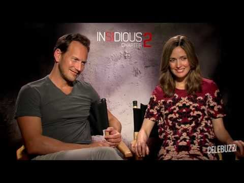 'Insidious Chapter 2' Interview: Rose Byrne & Patrick Wilson Part 2