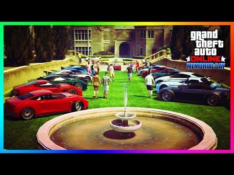 GTA Online Memorial Day 2018 Update - The Return Of Rare Vehicles, NEW Bonuses & MORE! (GTA 5 DLC)