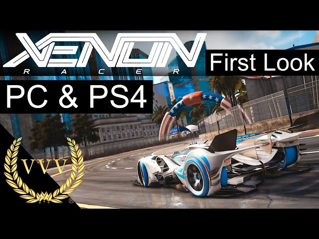 Xenon Racer PC and PS4