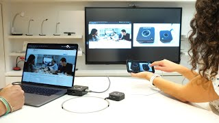 QuattroPod 4K Mini - mirroring à plusieurs sur écran interactif
