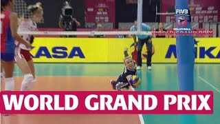 World Grand Prix: Phenomenal digging from Poland and Puerto Rico