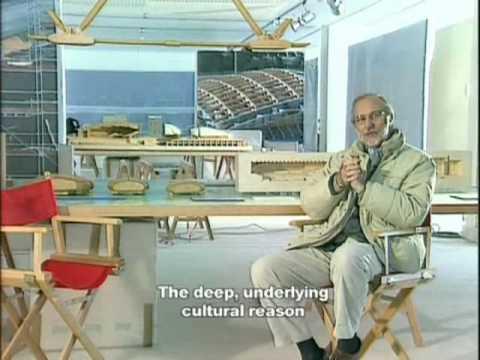 Renzo Piano. Il Parco della Musica di Roma. 1° Part. English Subtitles. Video by Teresa de Vito