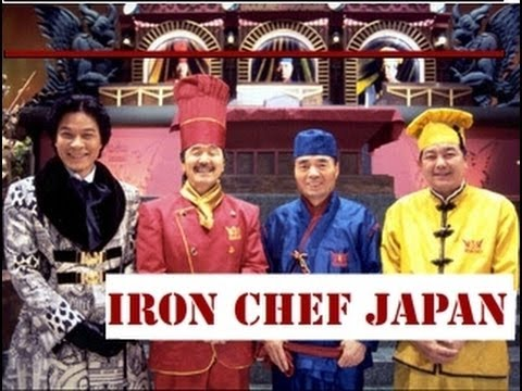 Sea Bass Battle - Chen and Michiba vs Bruant and Furutaka 『Iron Chef Japan English』