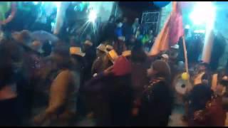 Sangayaico Carnaval. Familia guerreros