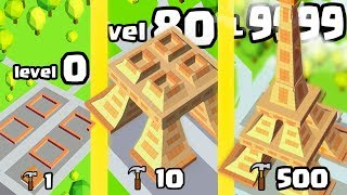 HOW HIGH IS THE HIGHEST LEVEL TOWER LANDMARK EVOLUTION? (9999 EIFFEL TOWER)l Idle Landmark Tycoon #2