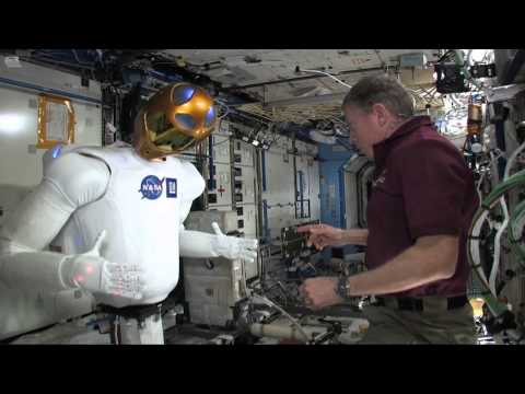 Robonaut on the ISS