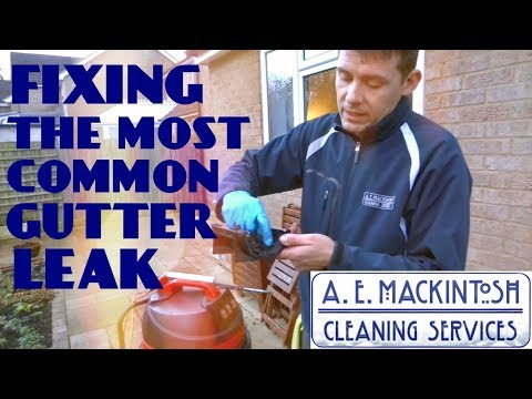 Fixing The Most Common Gutter Leak