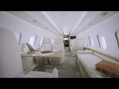 The inspired concept behind the Global 6500 cabin