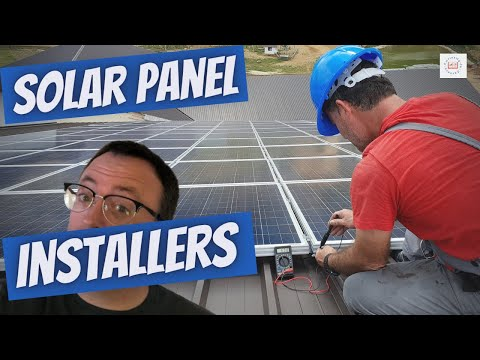 SOLAR PANEL INSTALLERS: good salary in a fast growing industry, Solar Installer careers!