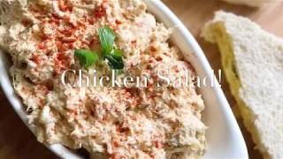 How to make THE BEST HOMEMADE CHICKEN SALAD!!!