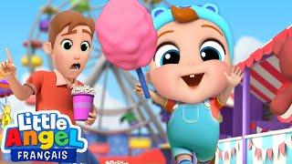 Jeux et Bonbons au Parc d'attraction - Comptines pour Bébé - Little Angel Français