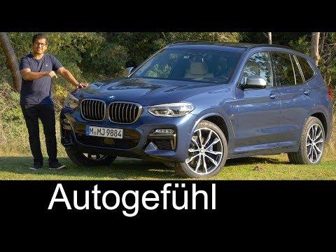 BMW X3 M40i FULL REVIEW all-new SUV 2018 neu - Autogefühl