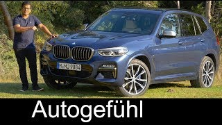 BMW X3 M40i FULL REVIEW all-new SUV 2018 neu - Autogefühl