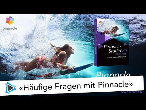 10 häufige Antworten für Anfänger mit Pinnacle Studio 20 Deutsch Video Tutorial FAQ