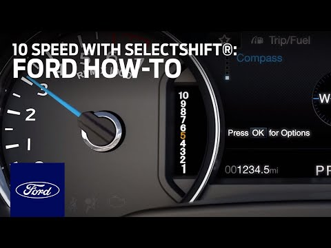 Using 10-Speed Automatic with SelectShift® Capability | Ford How-To | Ford