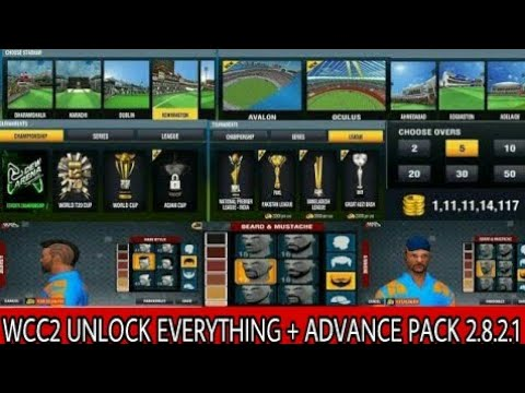 HOW TO UNLOCK ADVANCE PACK AND HACK WCC2 NEW VESION 2.8.2 NO ROOT