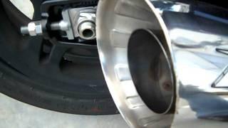 Triumph Thunderbird - Zard: silenziatori racing in inox lucidati a specchio