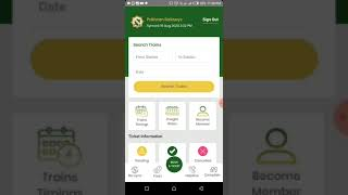 How to book online train ticket from Pakistan Railway updated application. screenshot 4