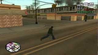 GTA San Andreas. Прохождение: Захват вражеских территорий / районов банд.