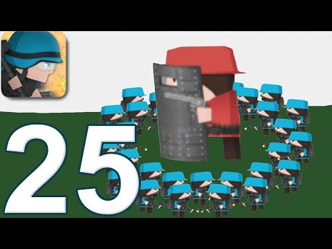 CLONE ARMIES - Walkthrough Gameplay Part 25 - PYRO ARMY - SANDBOX (iOS Android)