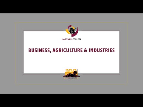 Hartnell College, Graduation 2020, Business Agriculture
