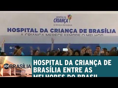 Hospital da Criança de Brasília entre os melhores do Brasil | SBT Brasília 25/06/2018