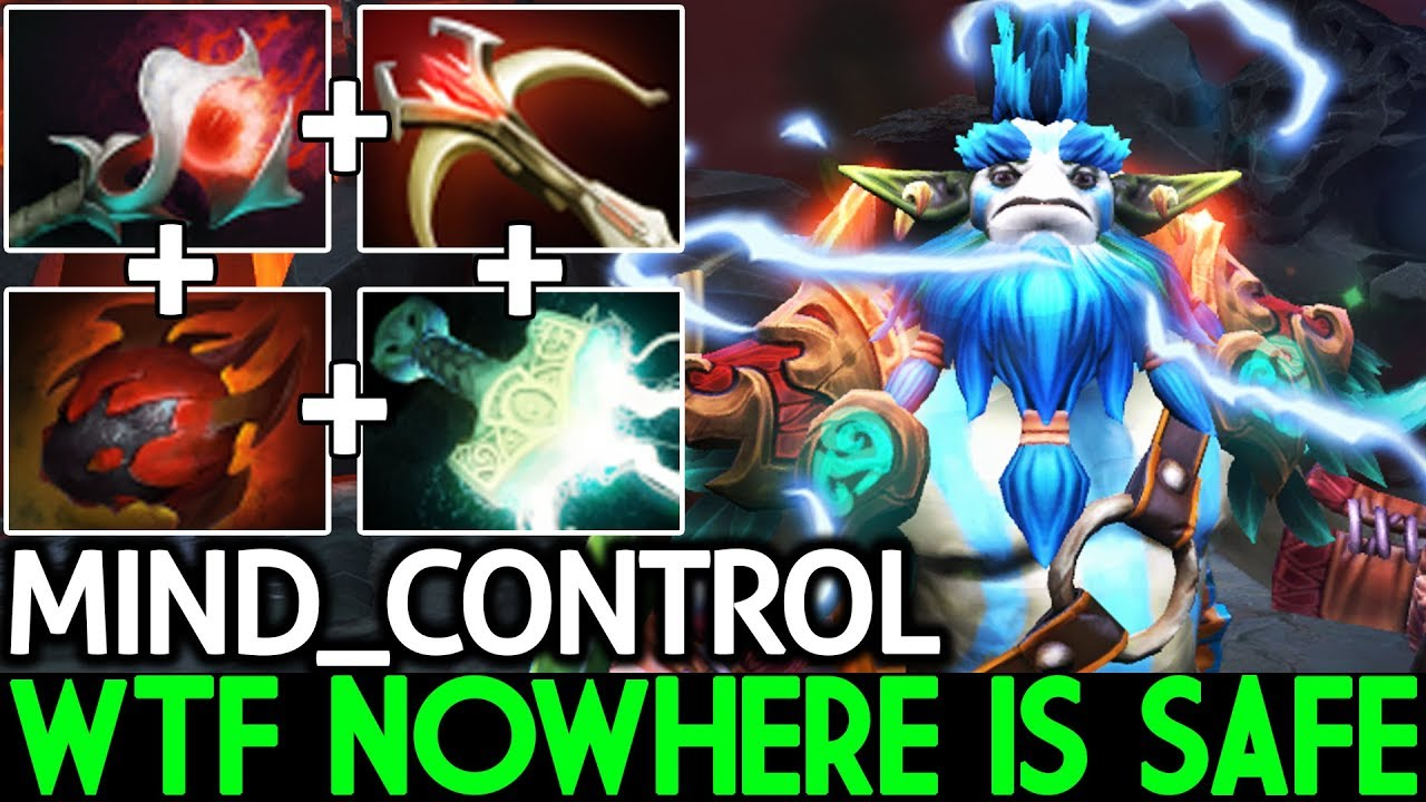Mind_ControL [Nature's Prophet] Nowhere is Safe Mass Ganking 7.21 Dota 2