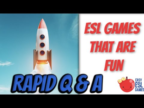 Rapid Questions and Answers   Easy ESL Games