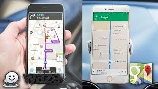 видео Waze - Социальный Навигатор для Android