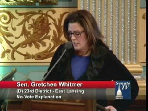Senator Whitmer Shares Personal Story in Opposition to Latest Republican Attack on Women