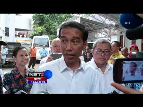 Presiden Jokowi Pantau Langsung Layanan BPJS - NET16