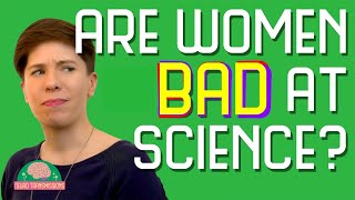 Are women bad at science?