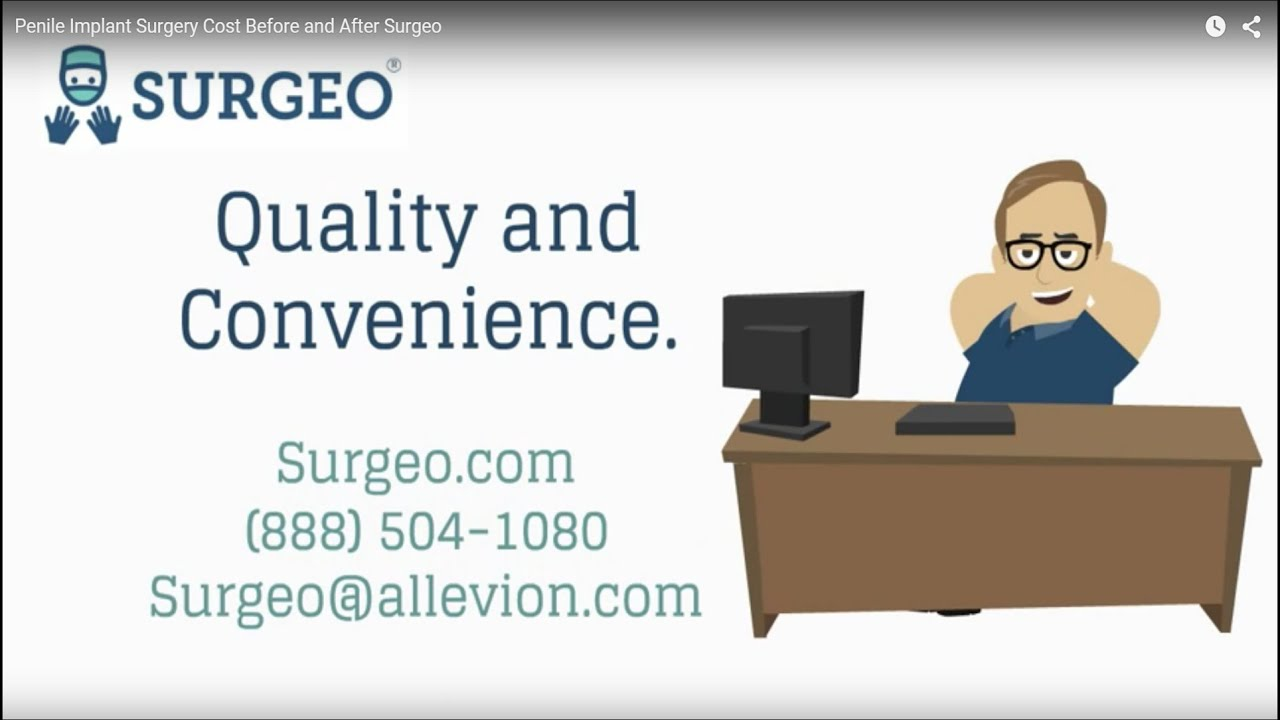 The cost of male sling surgery before and after Surgeo. - YouTube