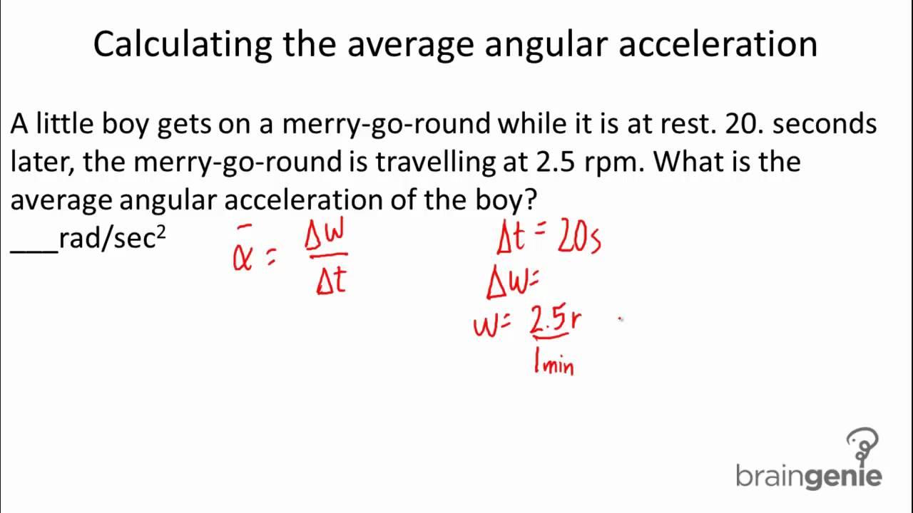 Images Of Angular Velocity Formula Spacehero