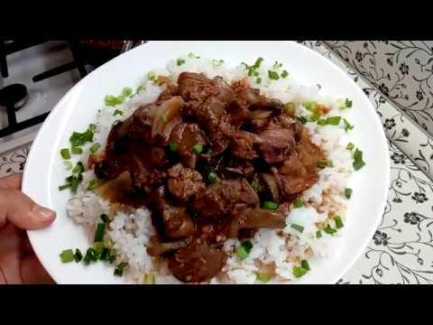 Такое блюдо понравится всем !Легко , быстро и вкусно .
