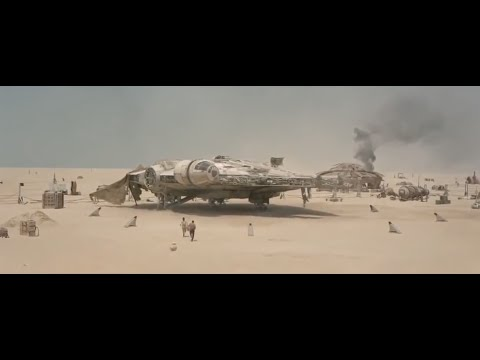 Star Wars The Force Awakens CGI Effects & Behind the Scenes
