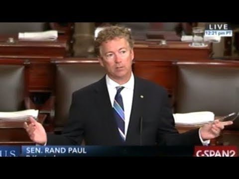 """MUST SEE! RAND PAUL """"ARE YOU FOR THE WAR OR AGAINST THE WAR?"""""""