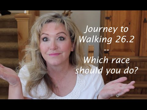 Journey to Walking 26.2—Races?